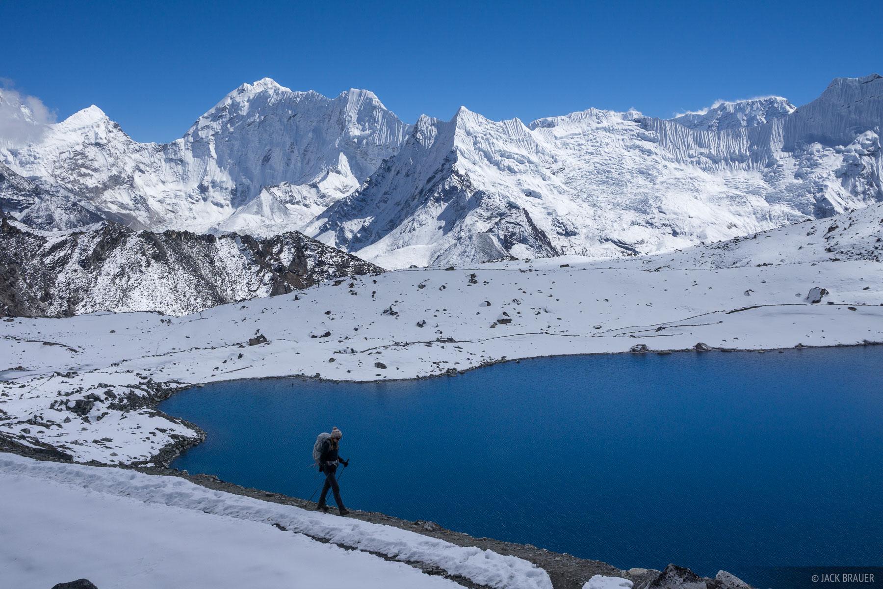 Himalaya,Khumbu,Kongma La,Nepal, hiking, lake, photo