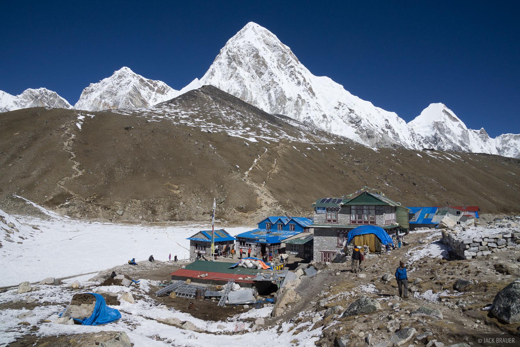 Gorak Shep,Himalaya,Khumbu,Nepal,Pumo Ri, photo