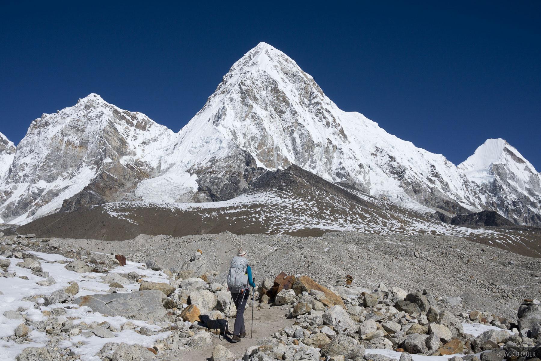 Himalaya,Khumbu,Nepal,Pumo Ri, photo
