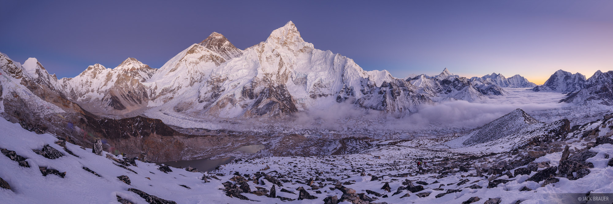 Himalaya,Kala Patthar,Khumbu,Mt. Everest,Nepal,Nuptse, Ama Dablam, panorama, photo