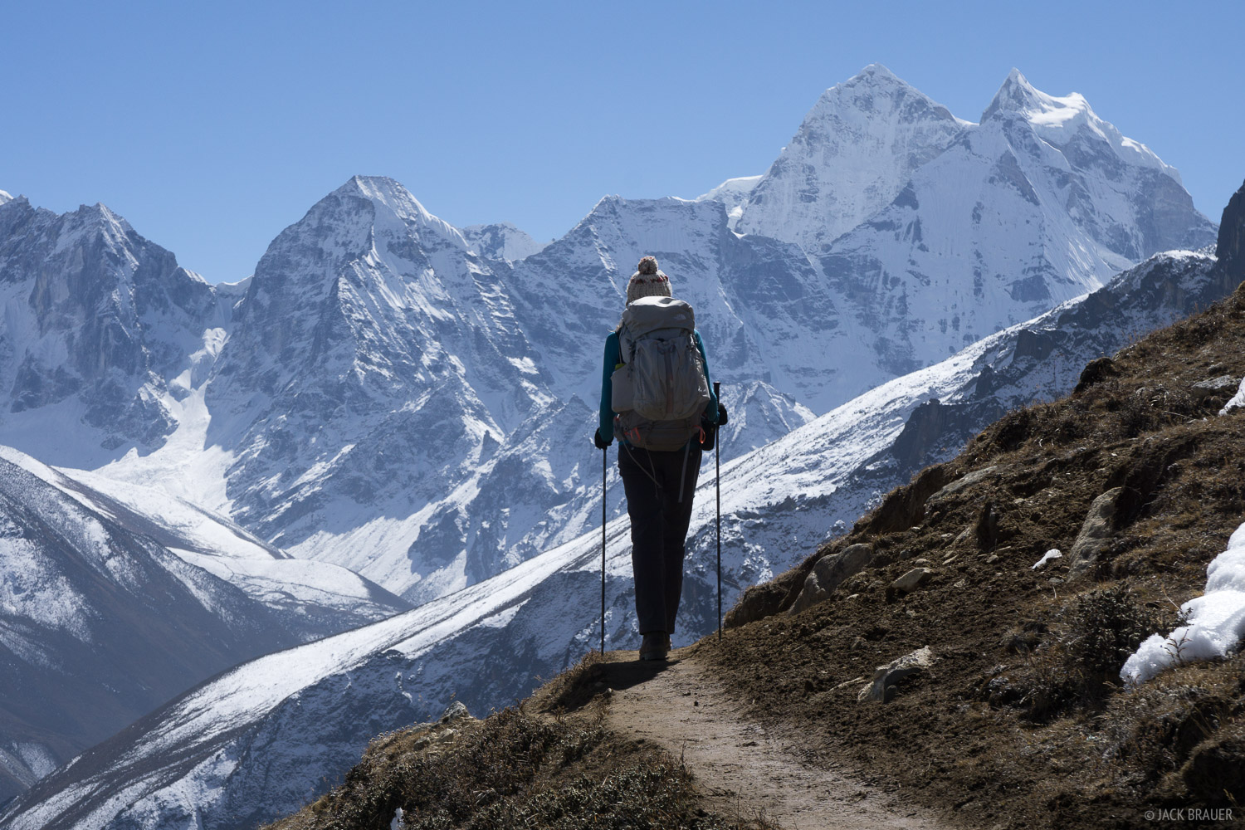 Himalaya,Khumbu,Nepal, hiking, Kangtega, photo