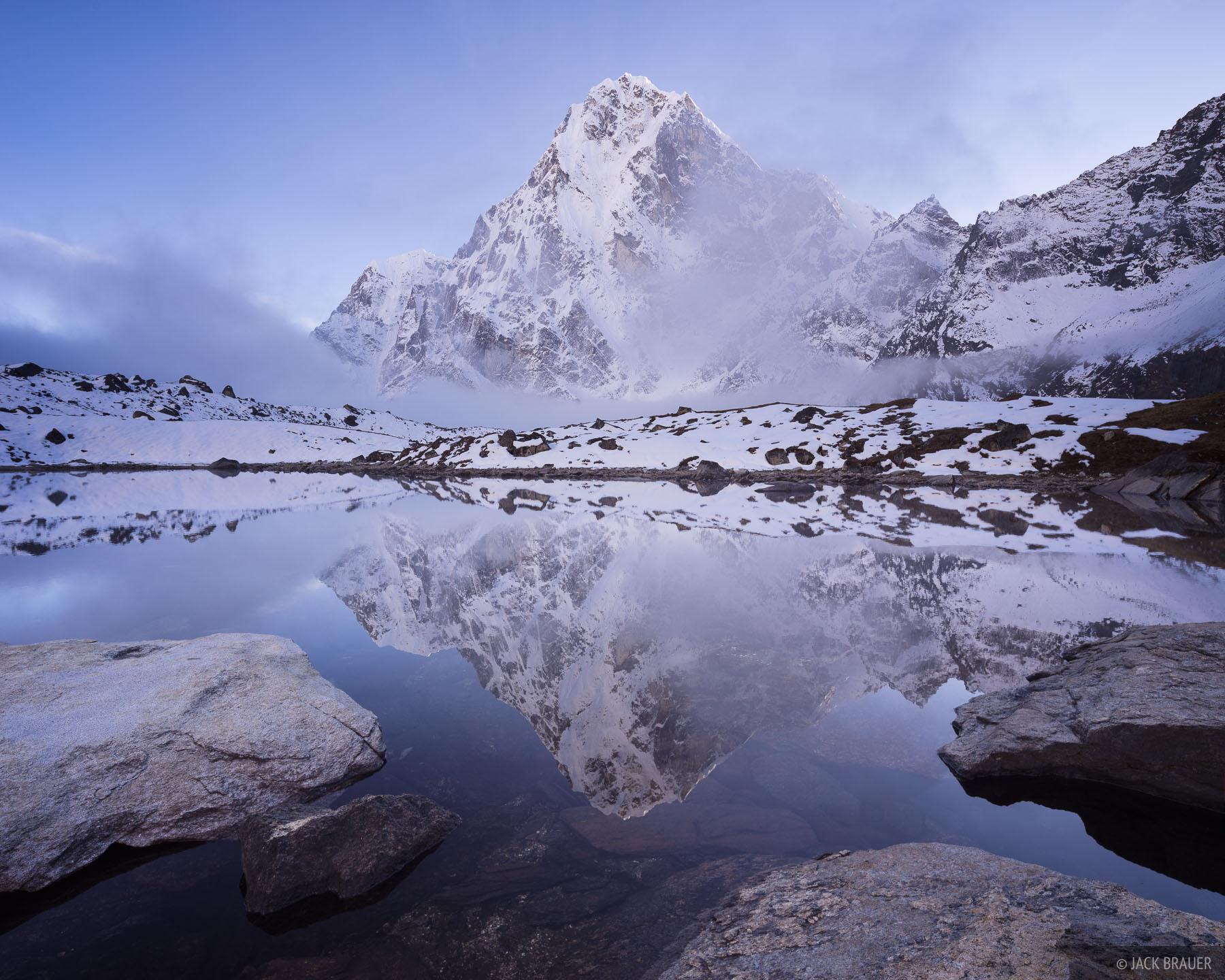 Cholatse,Dzonglha,Himalaya,Khumbu,Nepal, photo