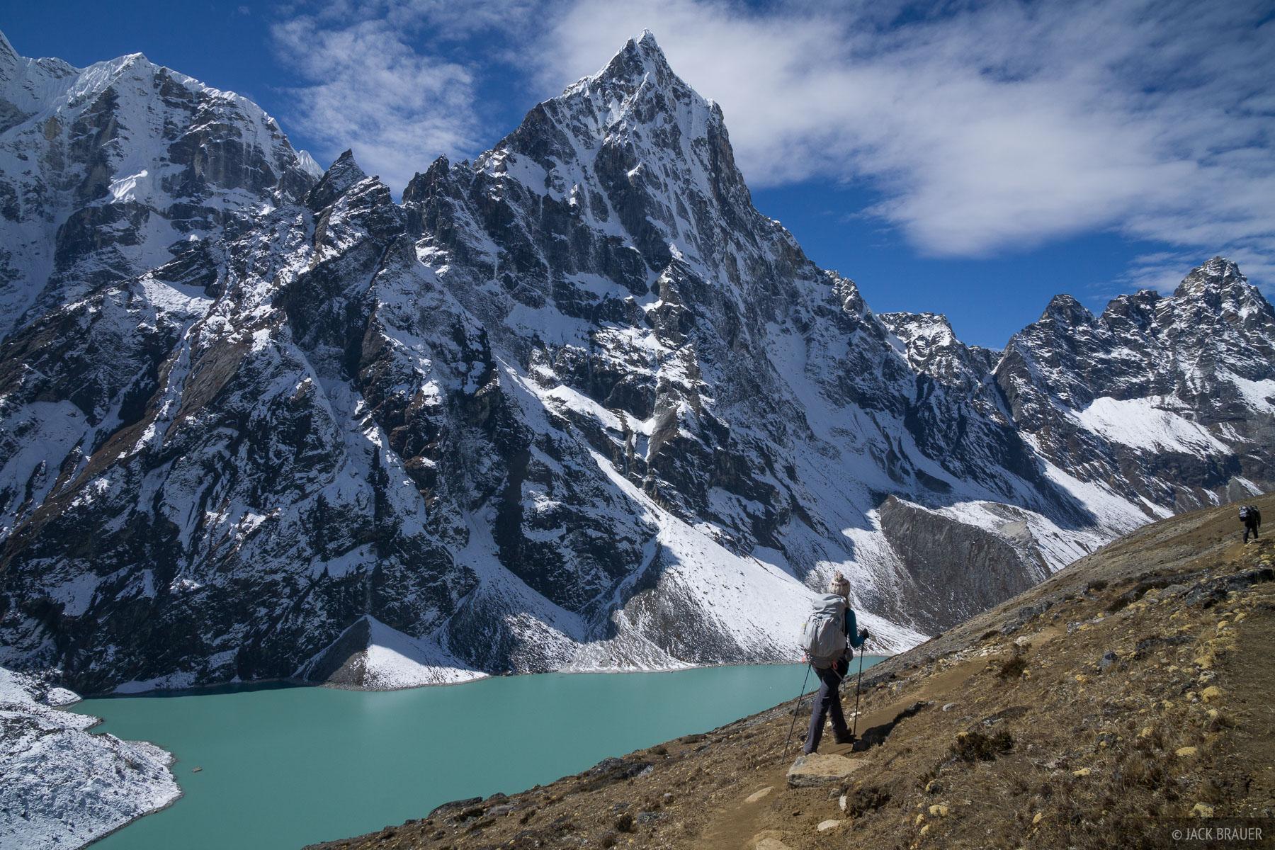 Cholatse,Himalaya,Khumbu,Nepal, hiking, photo