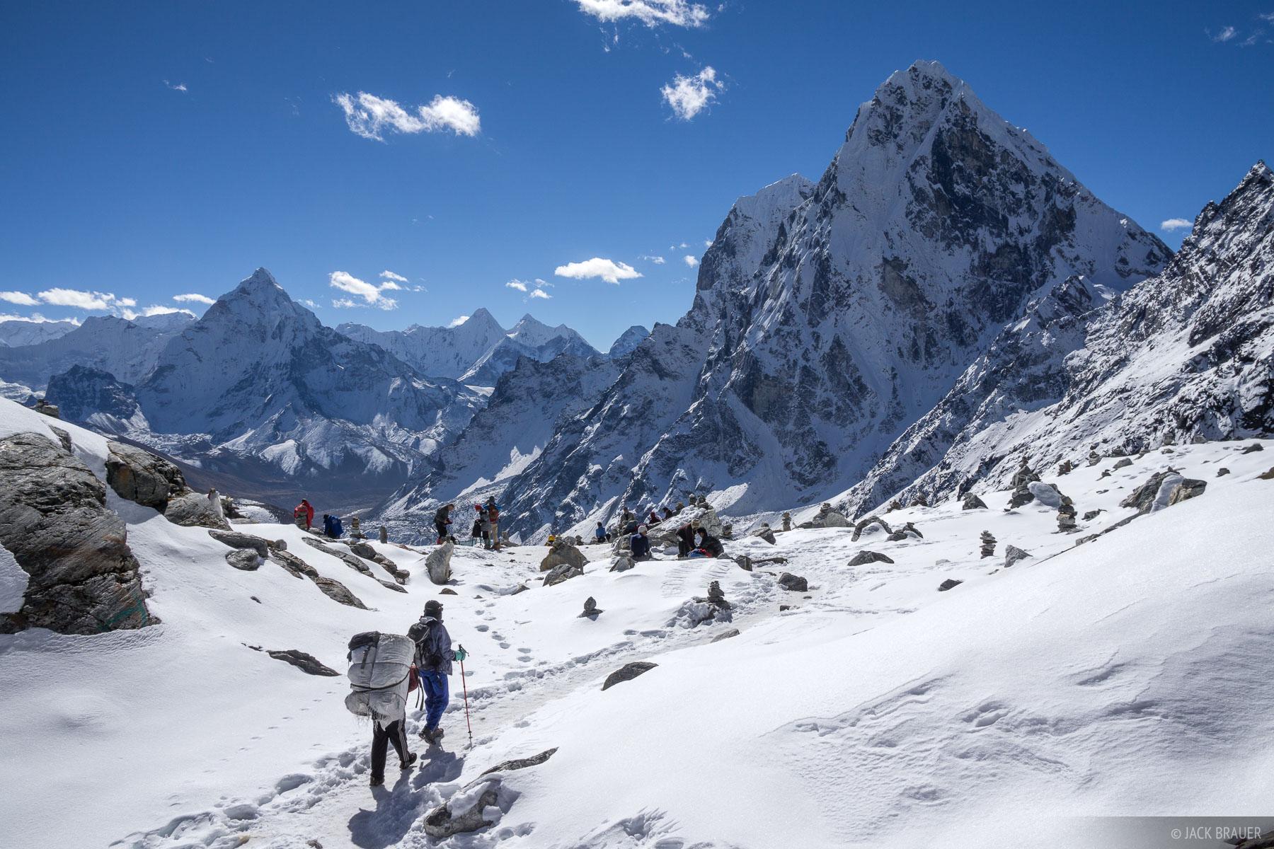 Ama Dablam,Asia,Cho La Pass,Cholatse,Himalaya,Khumbu,Nepal, hiking, photo