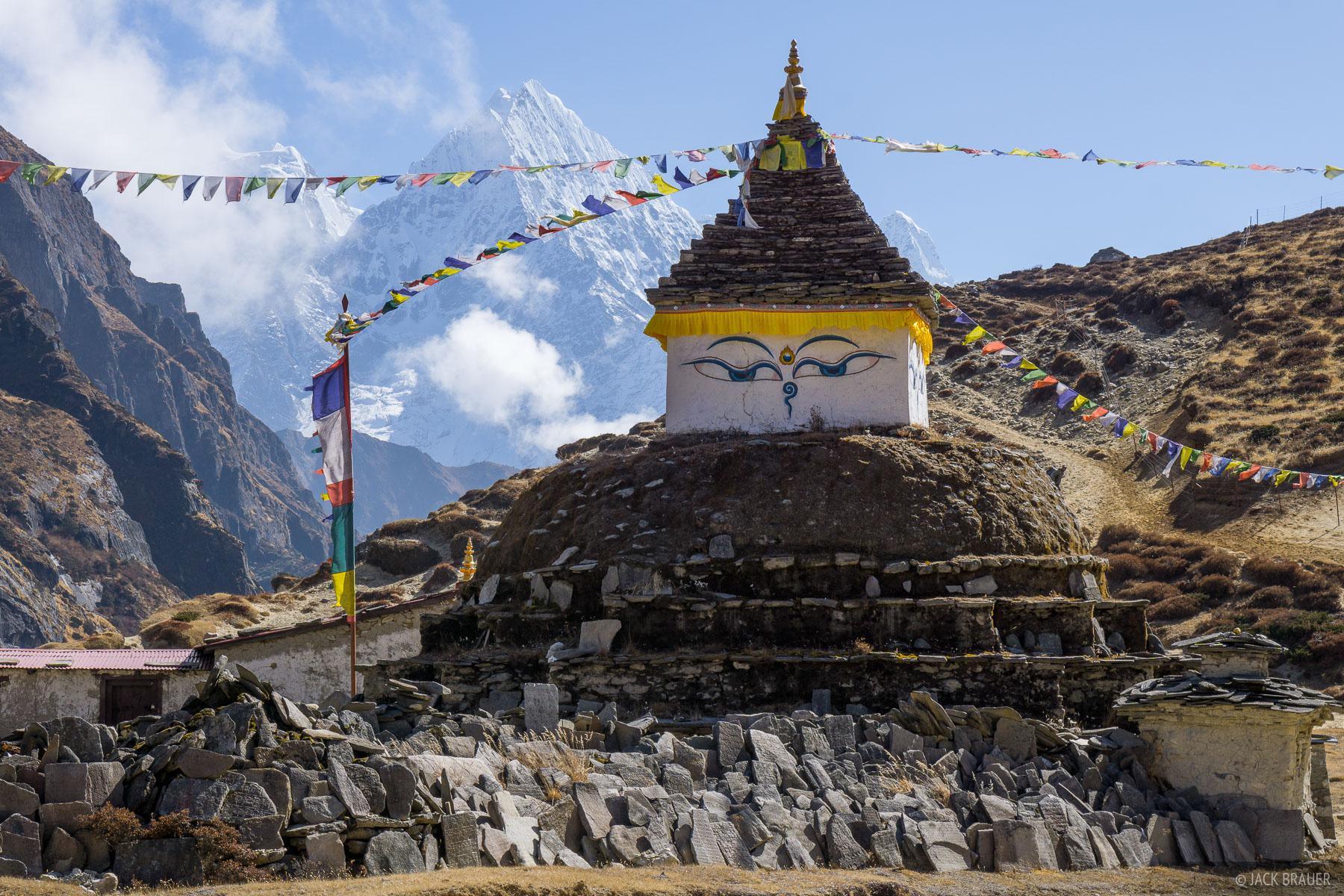 Himalaya,Khumbu,Nepal,Thame,stupa, photo