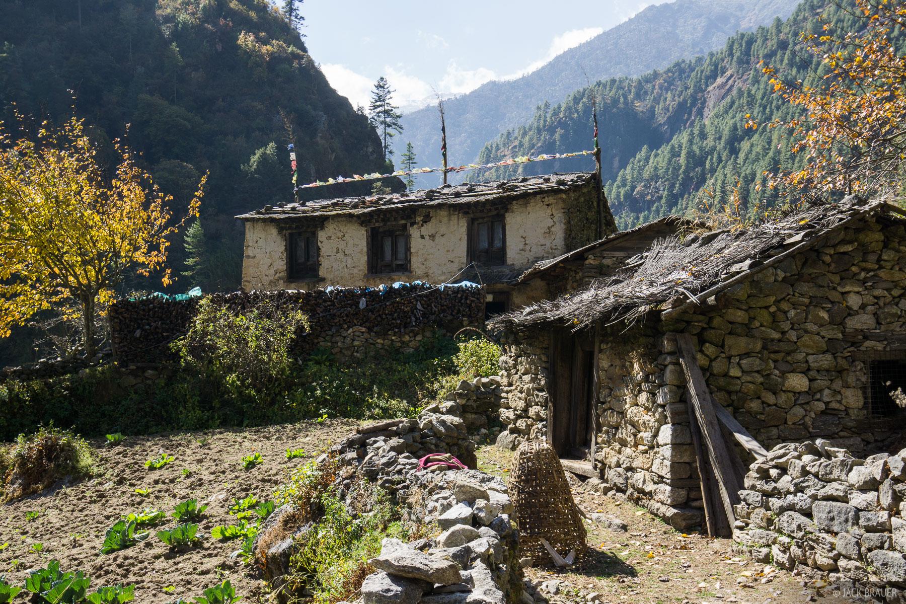 Himalaya,Khumbu,Nepal, Bengkar, photo