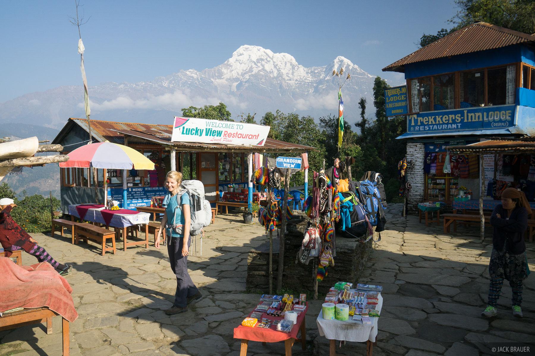 Annapurna South,Annapurna Range,Bhickok Deurali,Himalaya,Nepal, photo