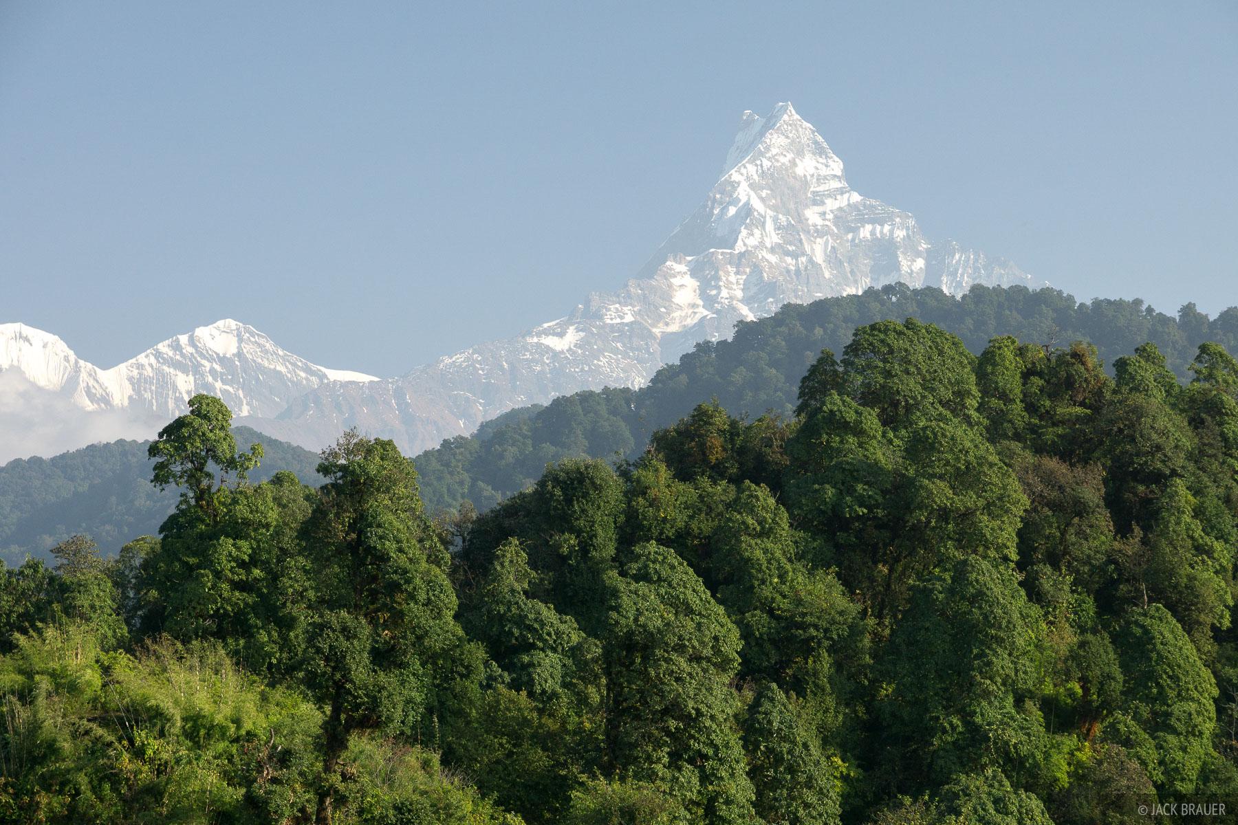 Annapurna Range,Himalaya,Machhapuchhre,Nepal, photo