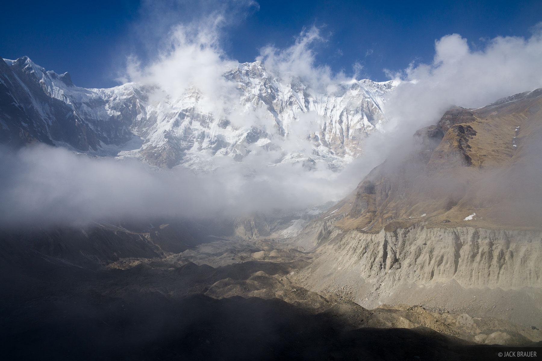 Annapurna,Annapurna Range,glacier,Himalaya,Nepal, photo