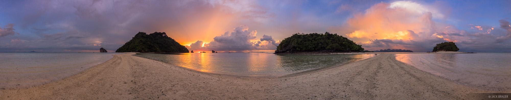 Thailand, Tup Island, Andaman Sea, beach, Ao Nang, panorama, photo