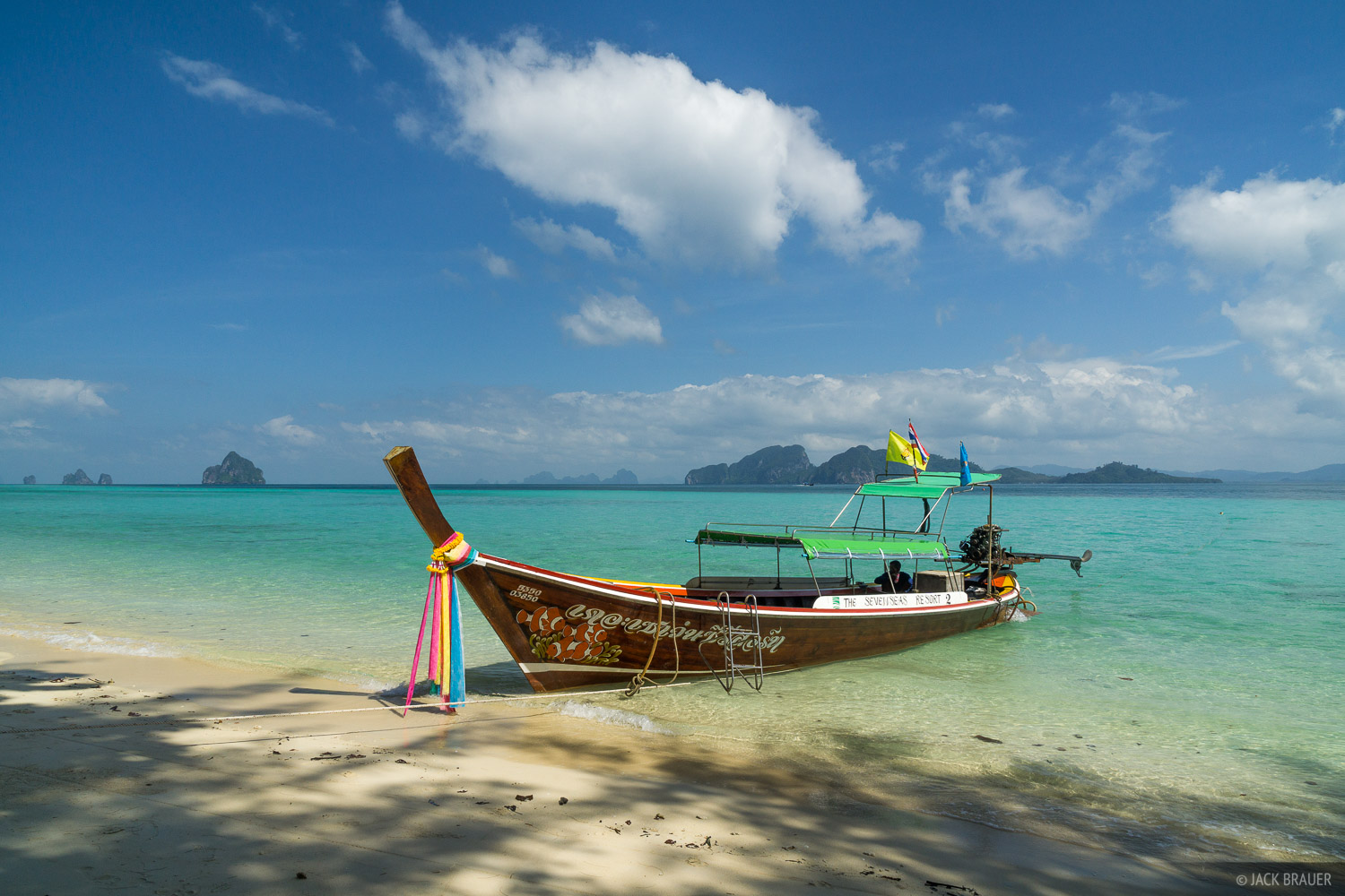 Ko Kradan, Thailand, Andaman Sea, boat, beach, photo