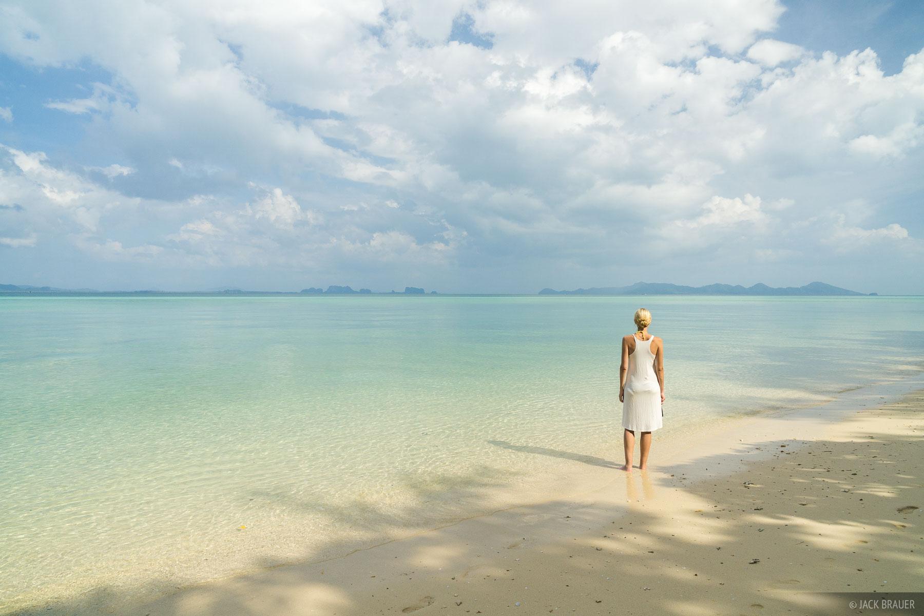 Ko Kradan, Thailand, Andaman Sea, beach, December, 2014