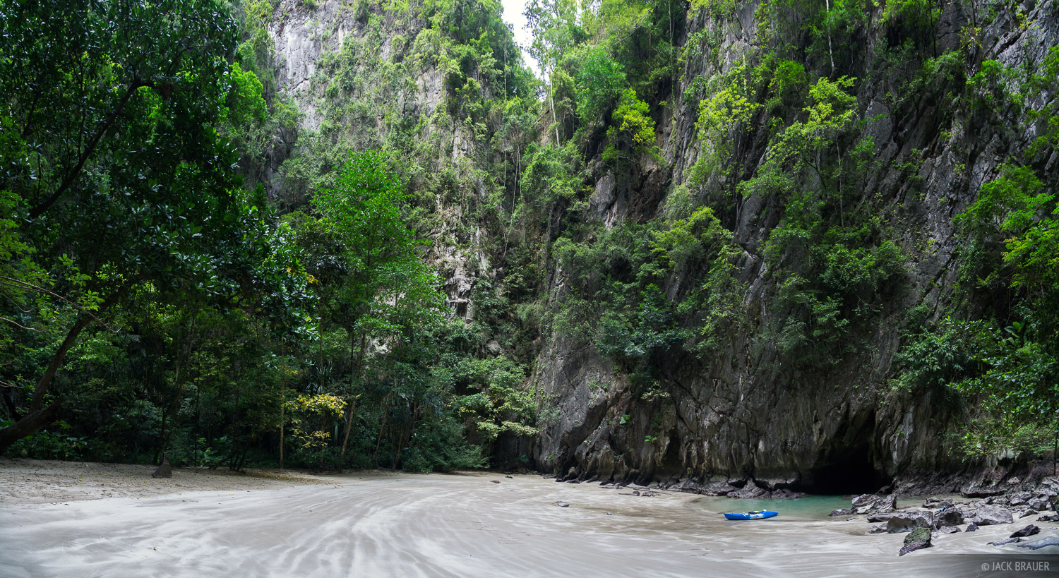 Ko Muk, Thailand, kayak, Andaman Sea, beach, Tham Morakat, Emerald Cave, photo