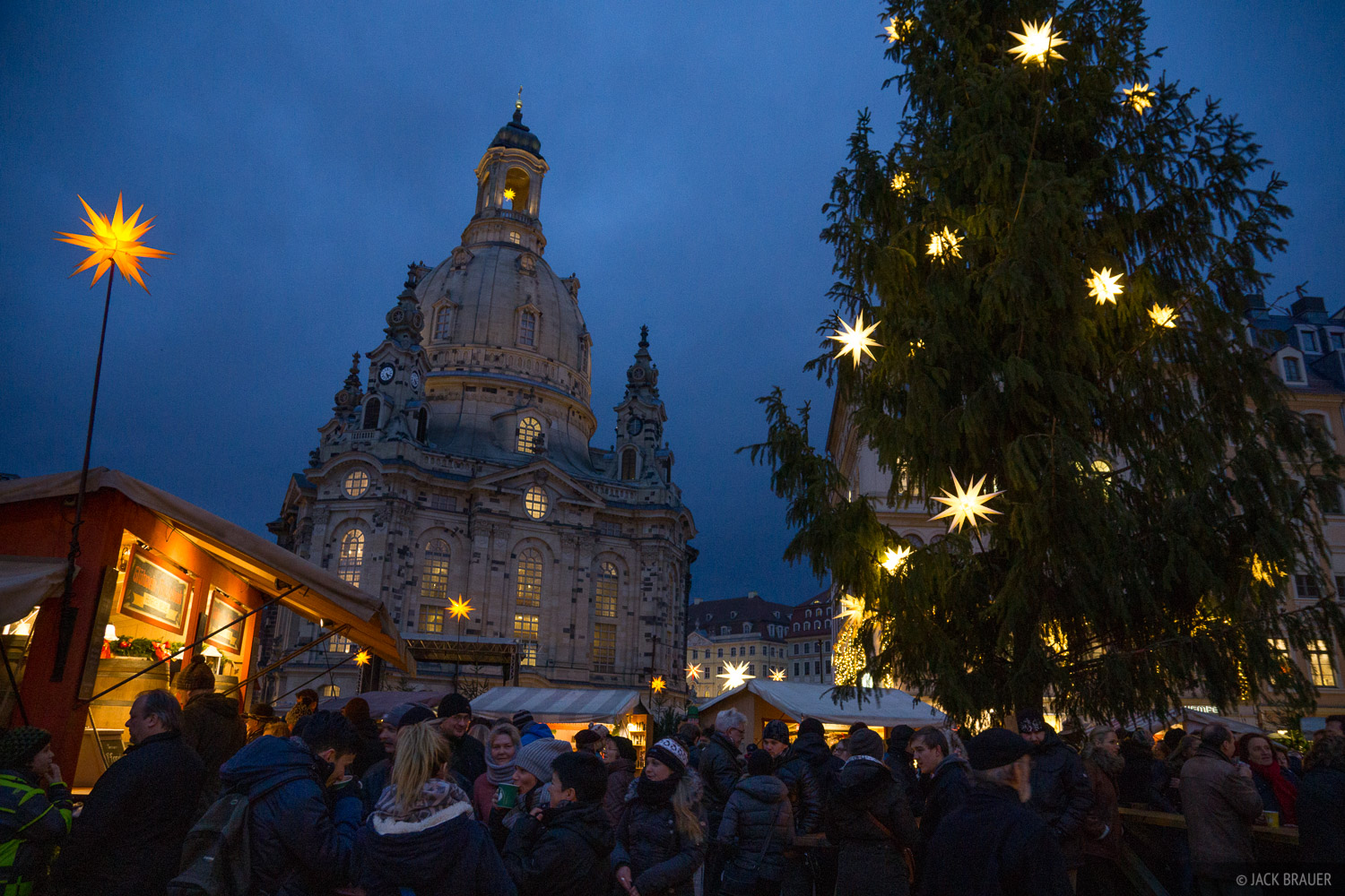 Dresden, Europe, Germany, Frauenkirche, Christmas, photo