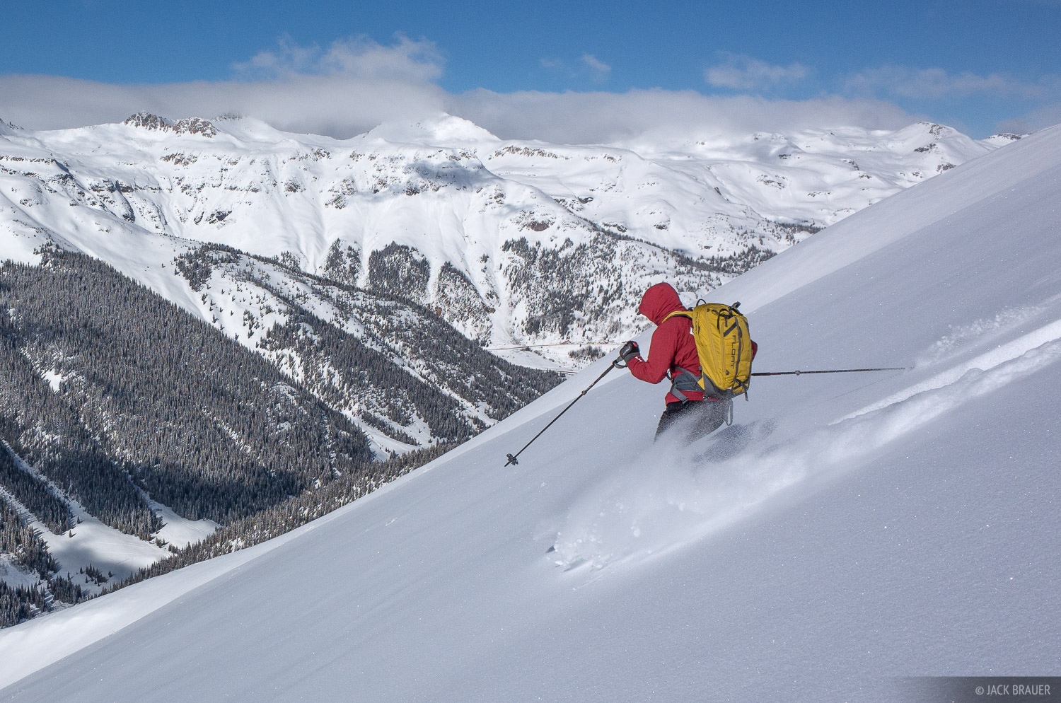 Colorado,Red Mountain Pass,San Juan Mountains,skiing, photo
