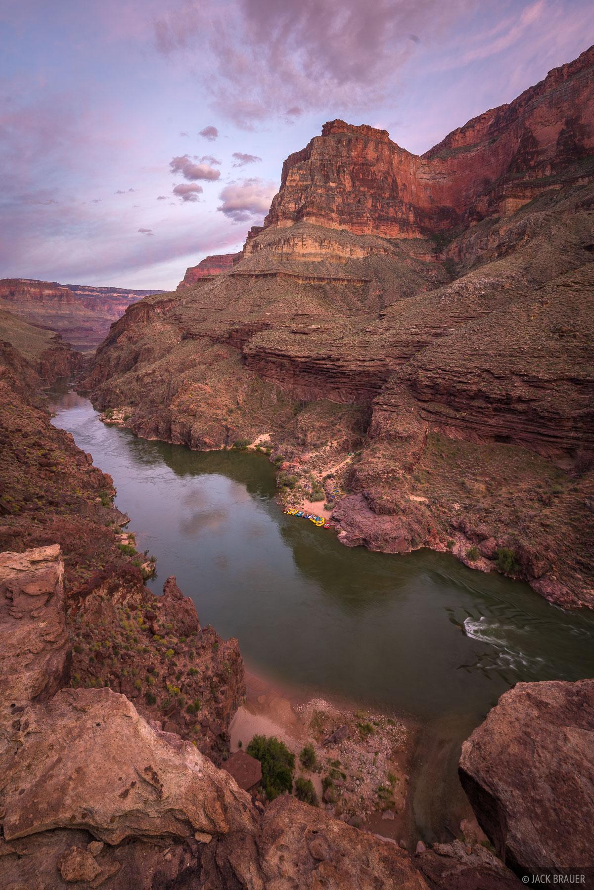 Evening over the Colorado River.