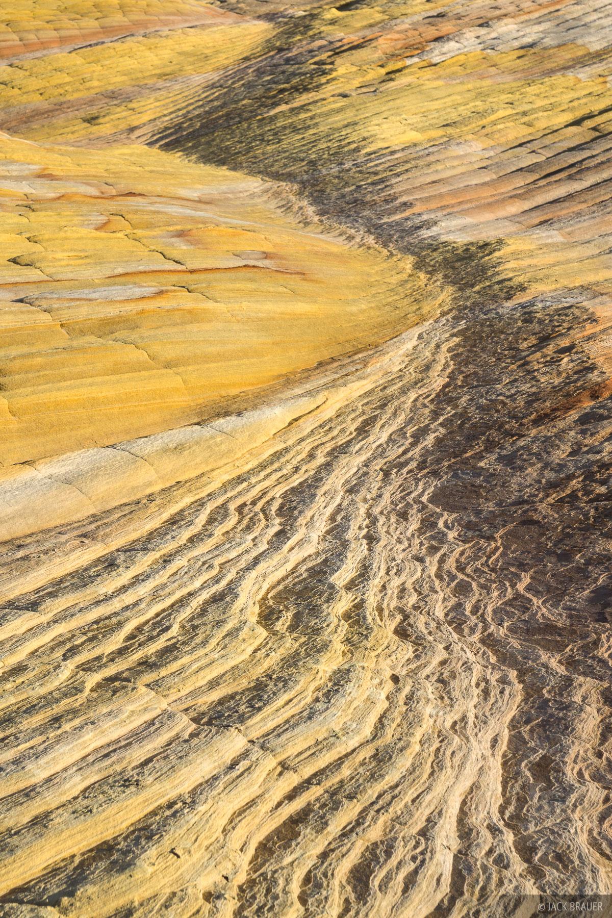 Sandstone patterns on Yellow Rock.