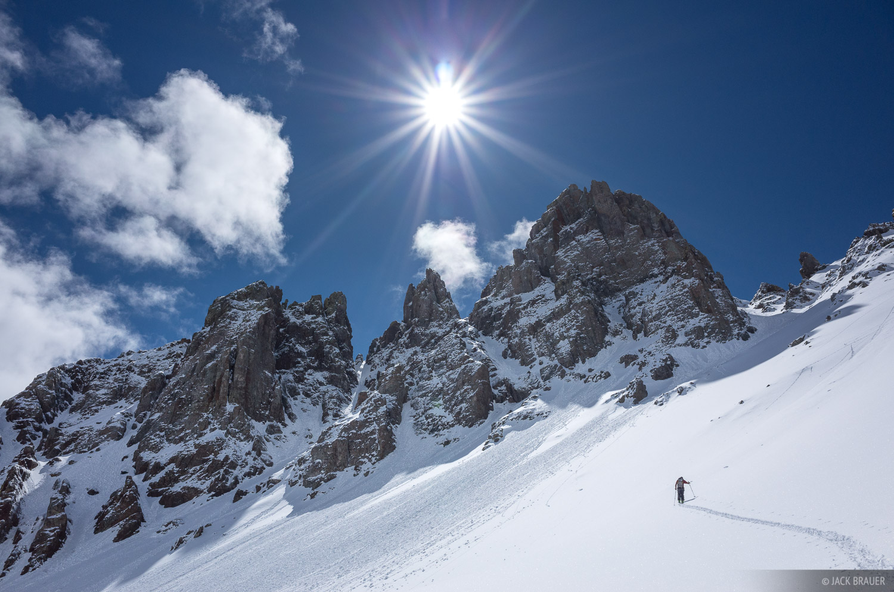 Colorado, Ophir Pass, San Juan Mountains, skiing, April, winter, active, 2015