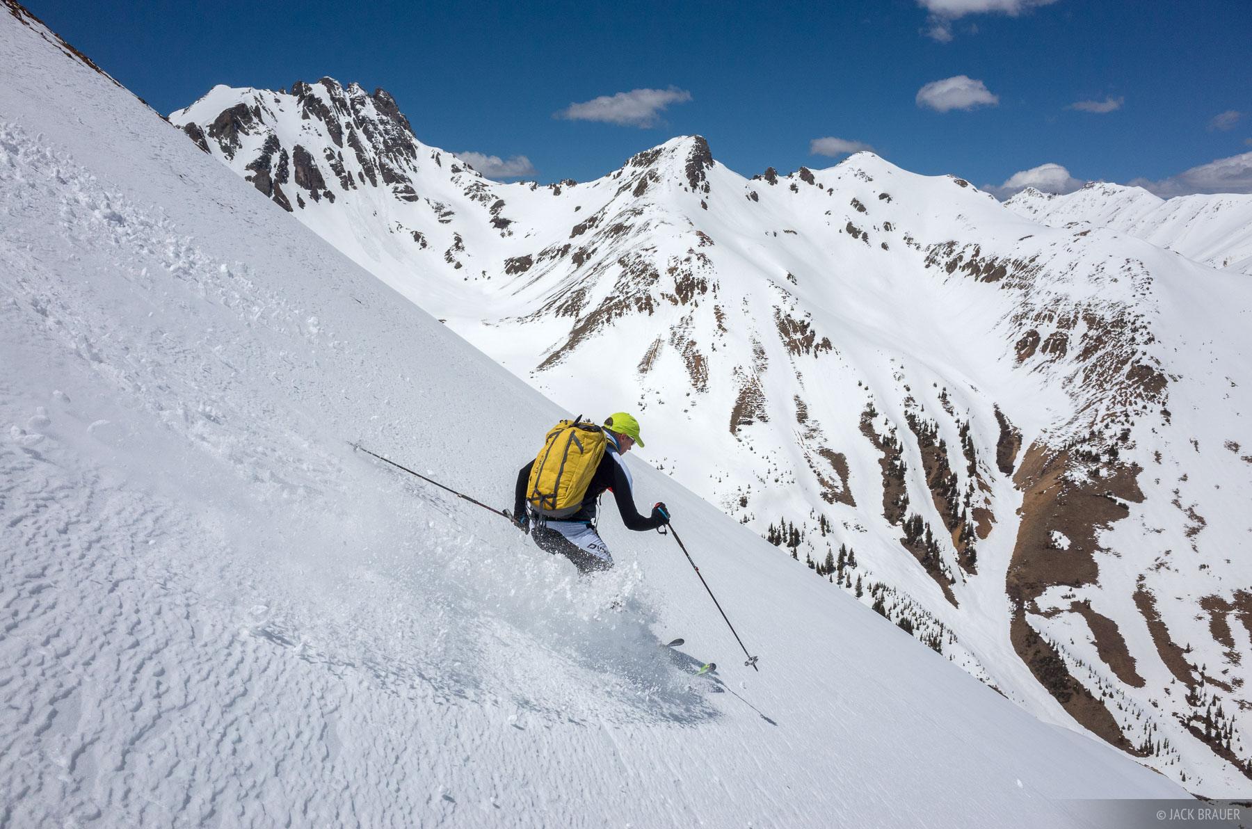 Colorado,Ophir Pass,San Juan Mountains,skiing, photo