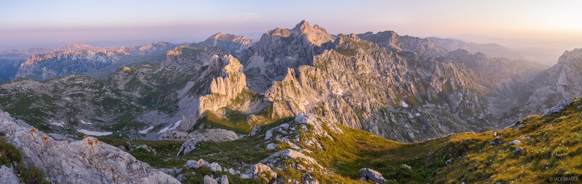 Bobotov Kuk,Dinaric Alps,Durmitor National Park,Montenegro, Bandijerna, panorama, photo