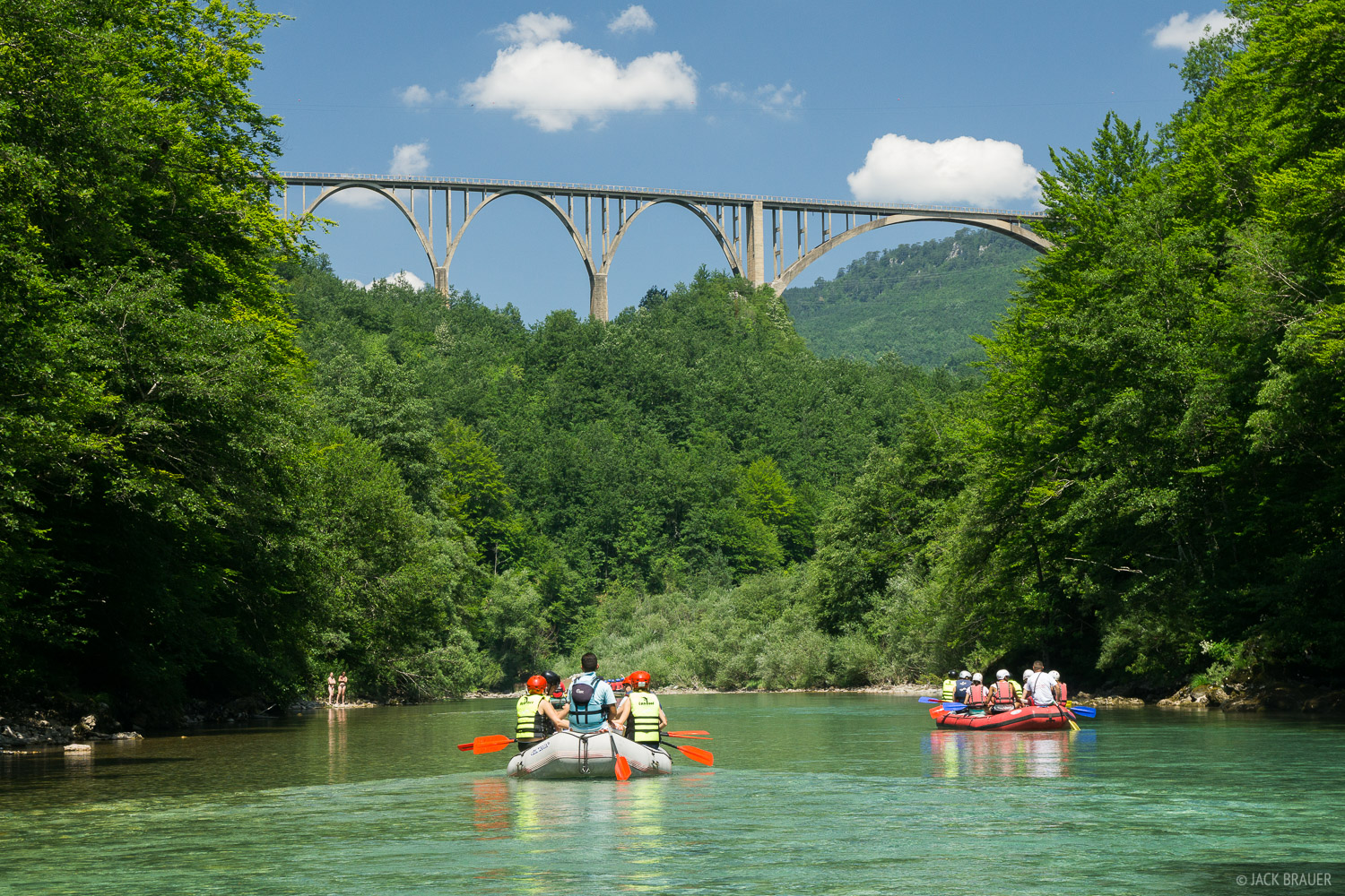 Tara River, Montenegro, rafting, photo