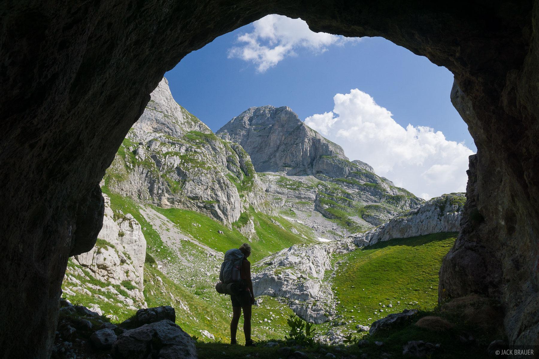 cave, hiking, Prokletije, Bjeshket e Nemuna, photo