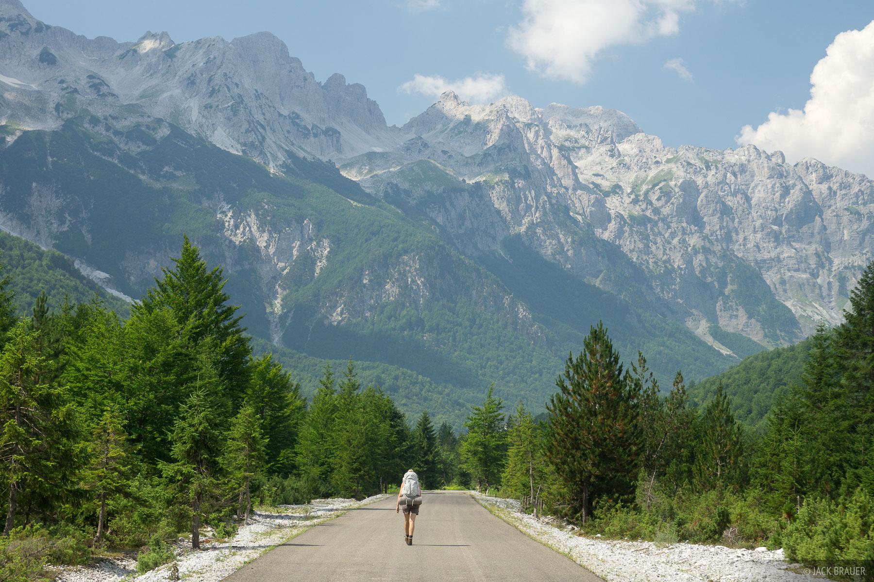Albania, Europe, Prokletije, Valbona, hiking, Bjeshkët e Namuna, photo
