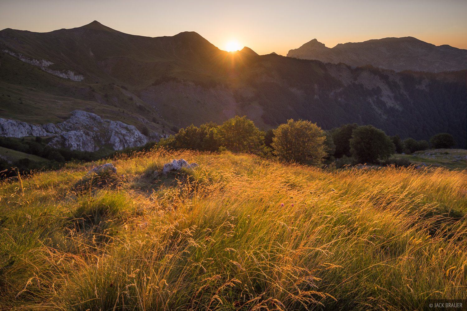 Meadow Sunset : Prokletije, Montenegro : Mountain Photography by Jack ...: www.mountainphotography.com/photo/meadow-sunset