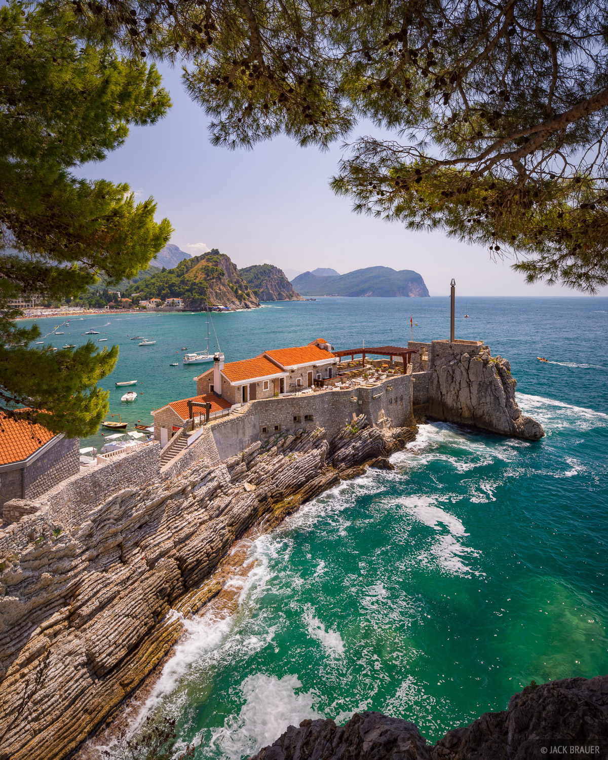 Montenegro,Petrovac, Adriatic Sea, photo