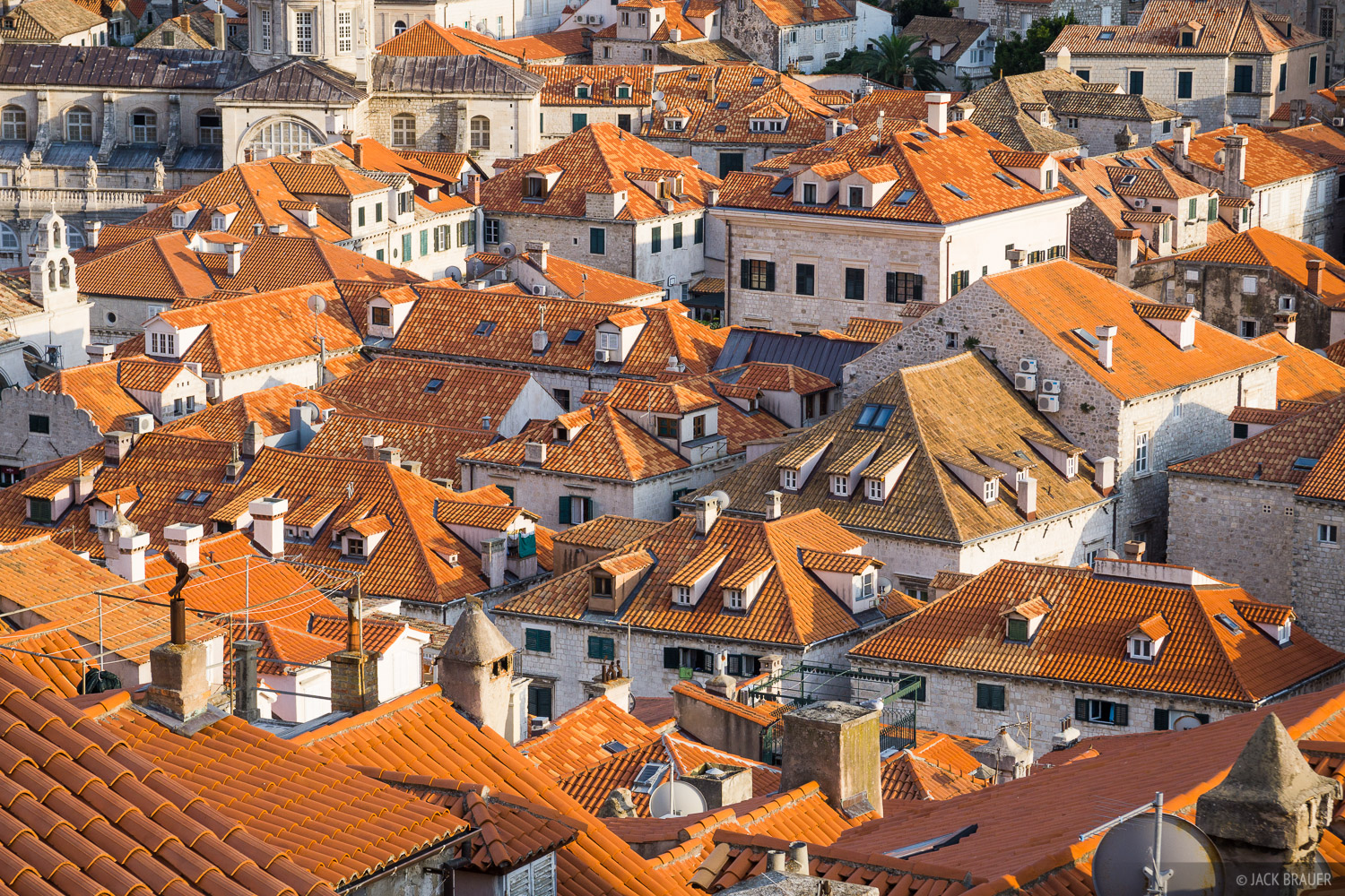 Croatia,Dubrovnik, roofs, photo