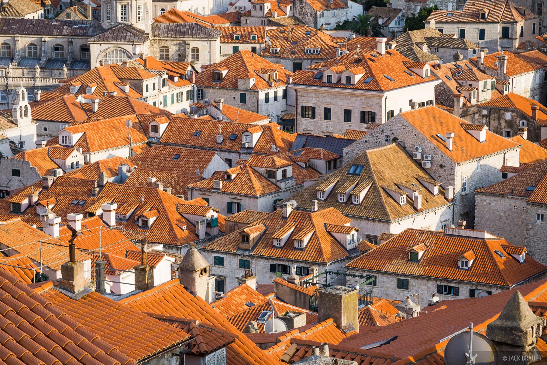 Croatia,Dubrovnik, roofs