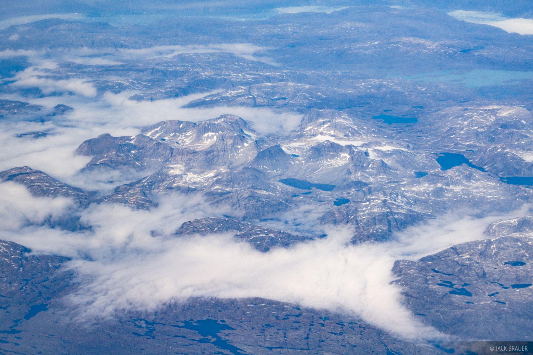 Greenland,aerial, Jakraviyk, Sermiligarssuk, photo