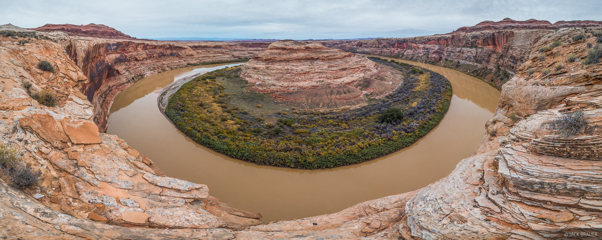 Green River,Utah, panorama