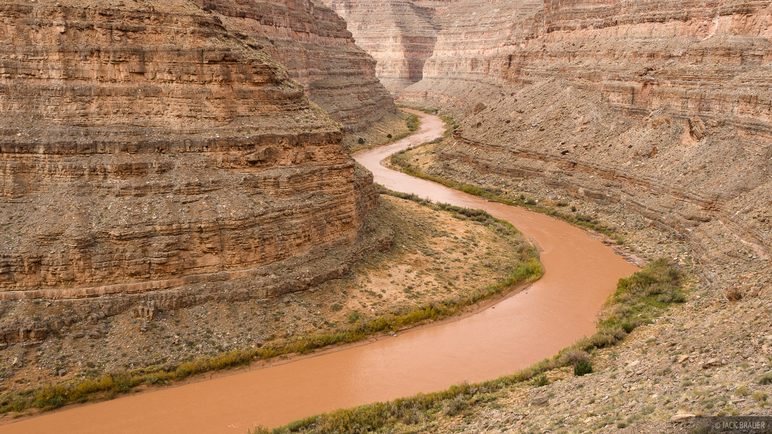 Honaker Trail, Utah, San Juan River, photo