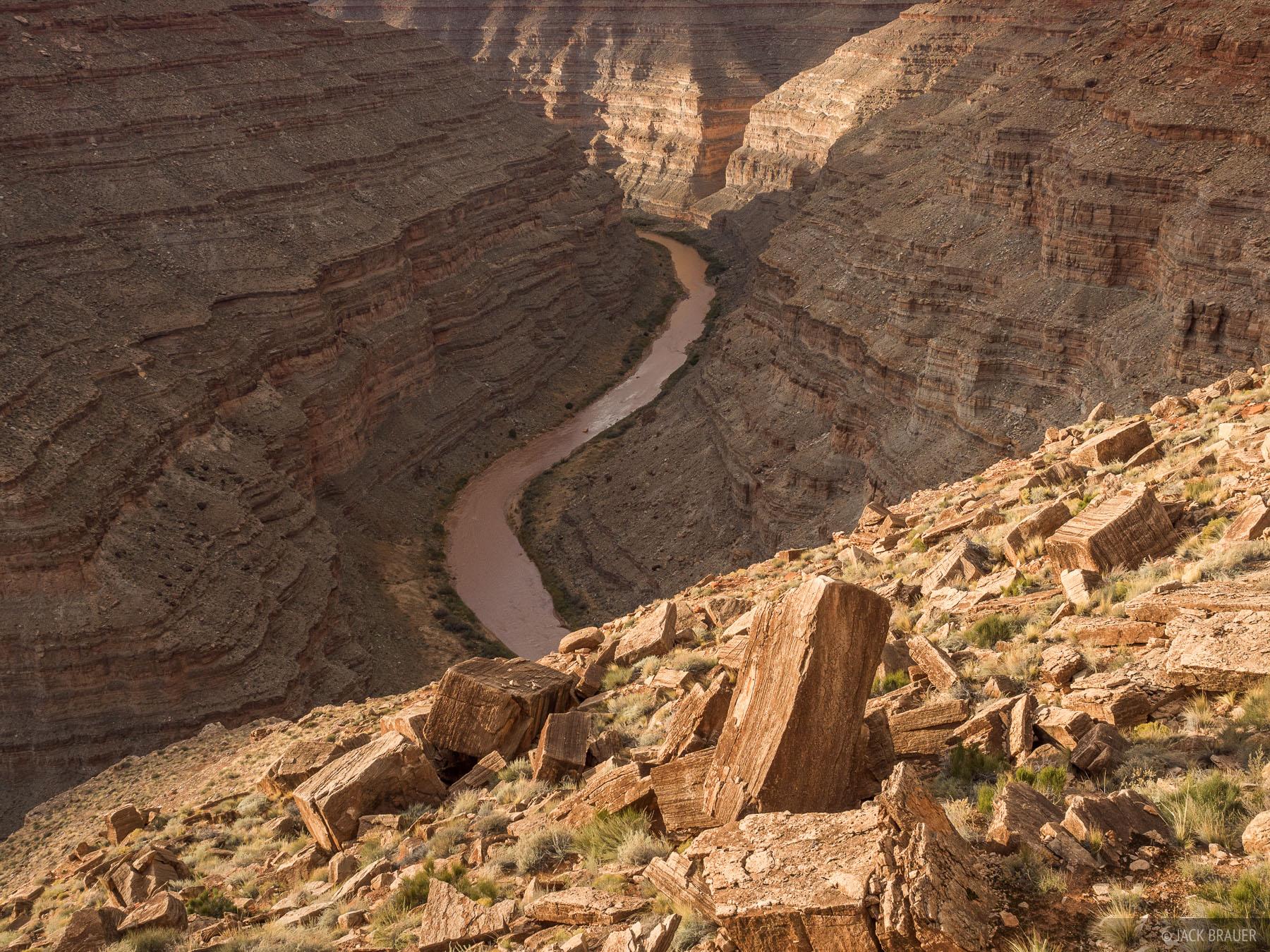 Honaker Trail, Utah, San Juan River, photo
