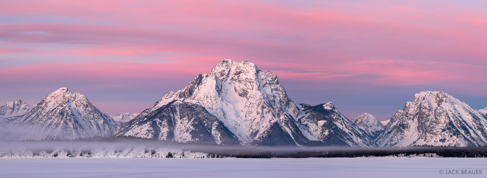 Jackson Lake, Tetons, Wyoming, panorama, Mt. Moran, Grand Teton National Park, photo