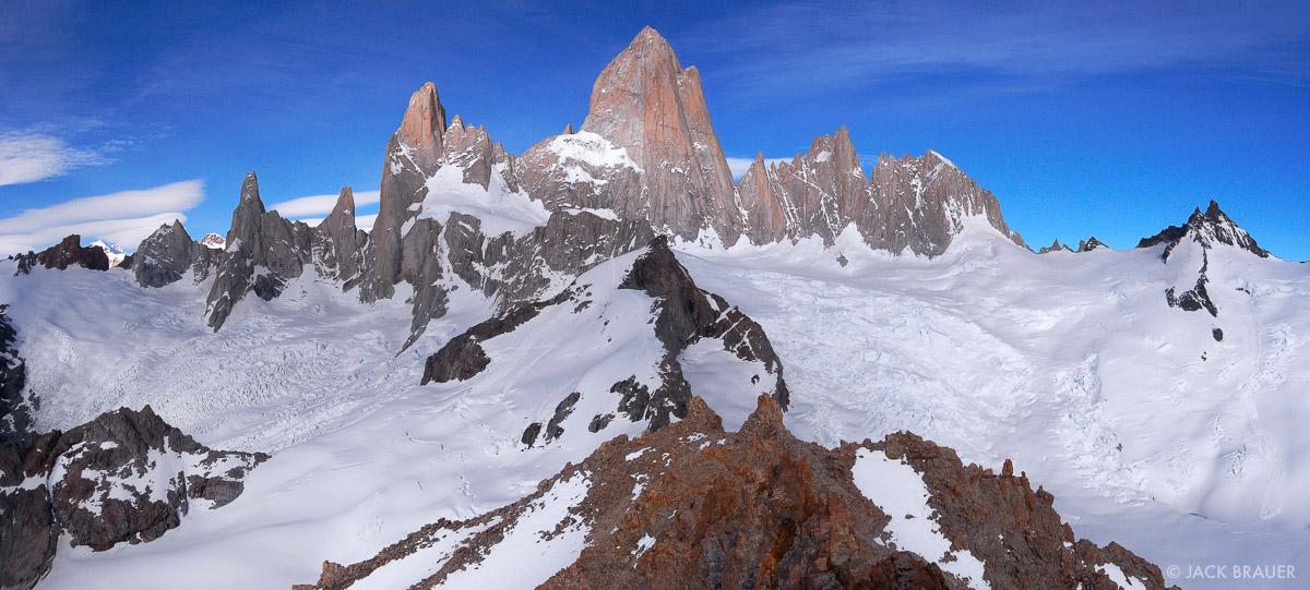Monte Fitz Roy, panorama, Parque Nacional los Glaciares, Argentina, Patagonia, photo