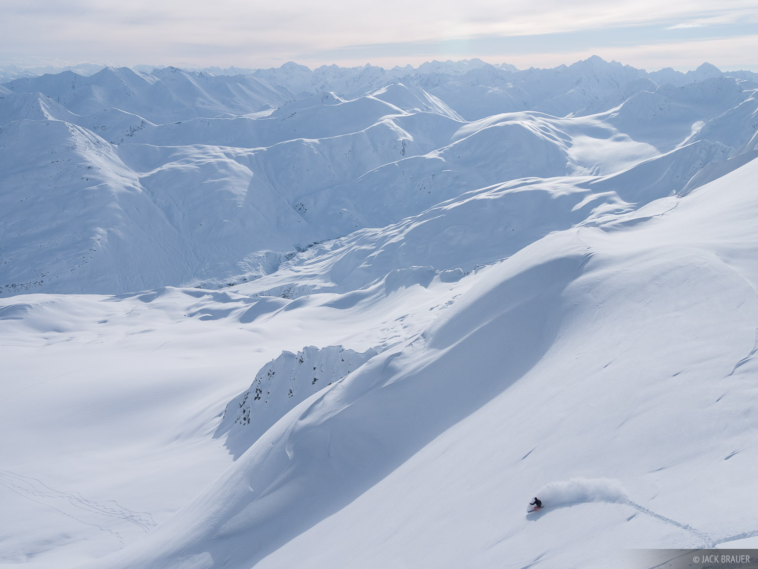 Alaska, Haines, Takhinsha Mountains, snowboarding, photo