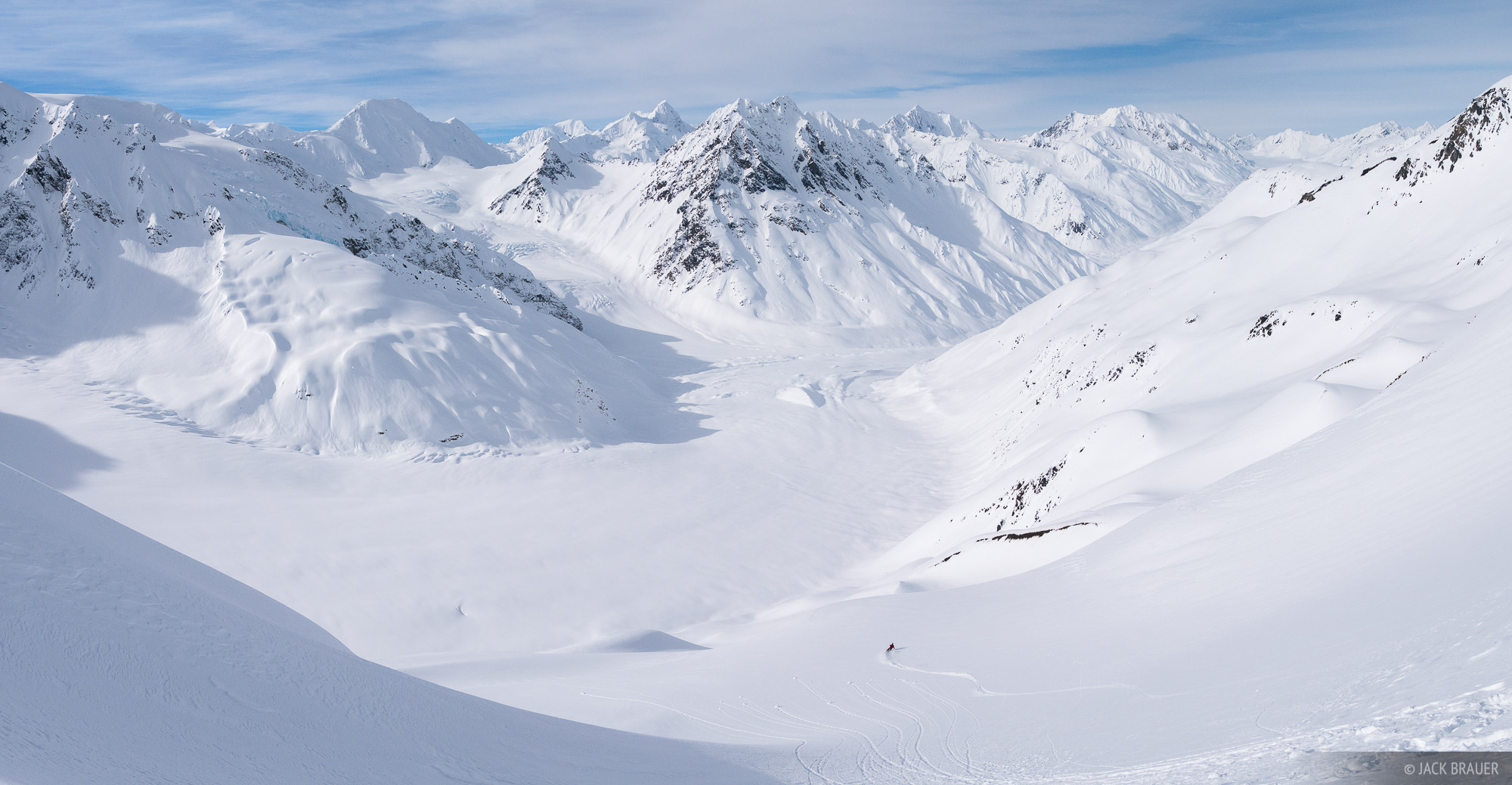 Alaska, Haines, Takhinsha Mountains, skiing, photo