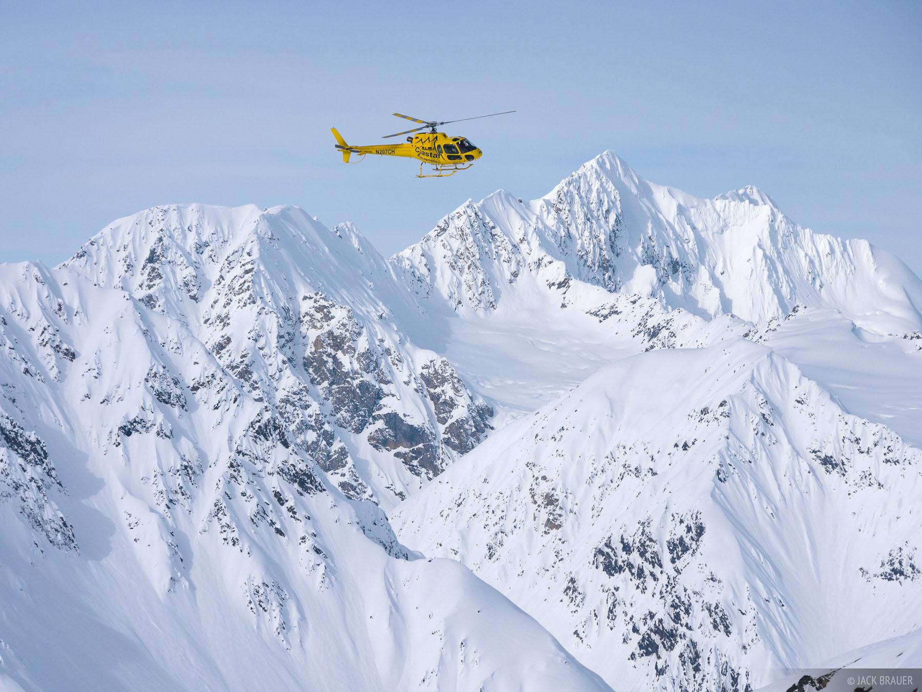 Alaska, Haines, helicopter, Takhinsha Mountains, March, Takhinsha, winter, 2016