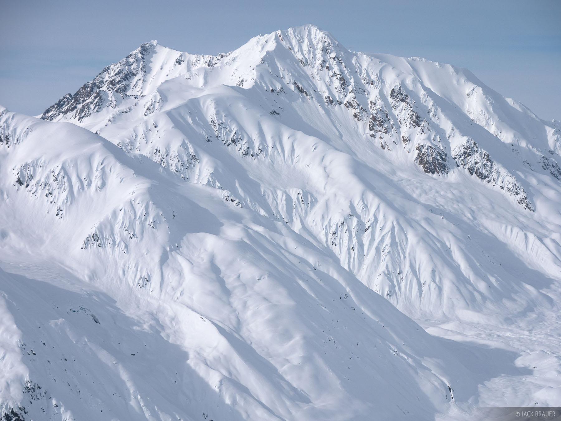 Alaska, Haines, Takhinsha Mountains, March, Takhinsha, winter, 2016