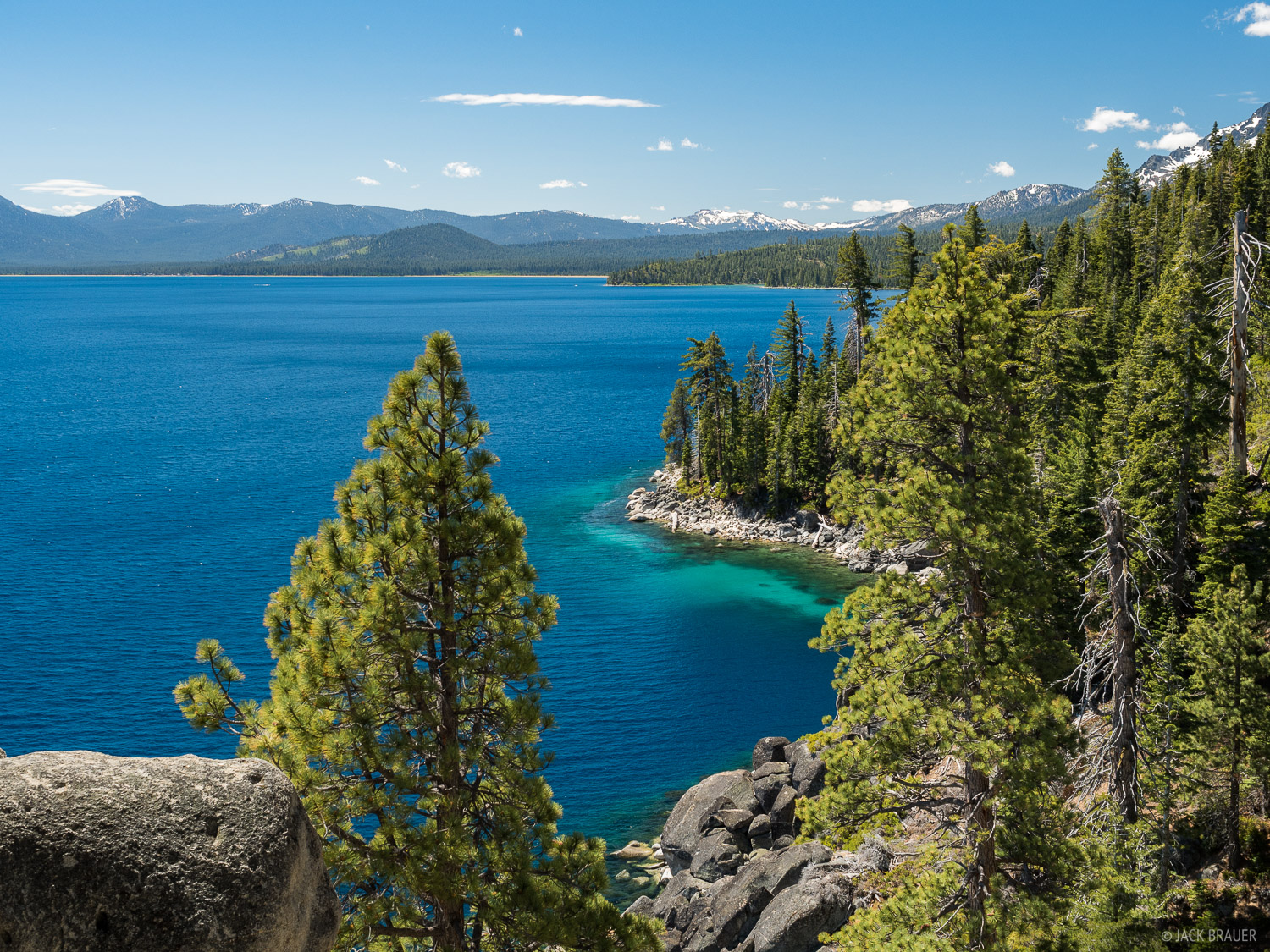 California, Lake Tahoe, Rubicon Trail, photo