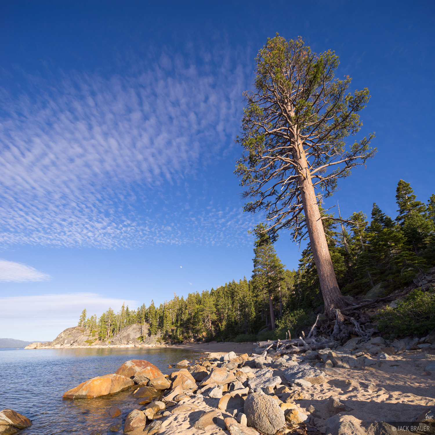 California, D. L. Bliss State Park, Lake Tahoe
