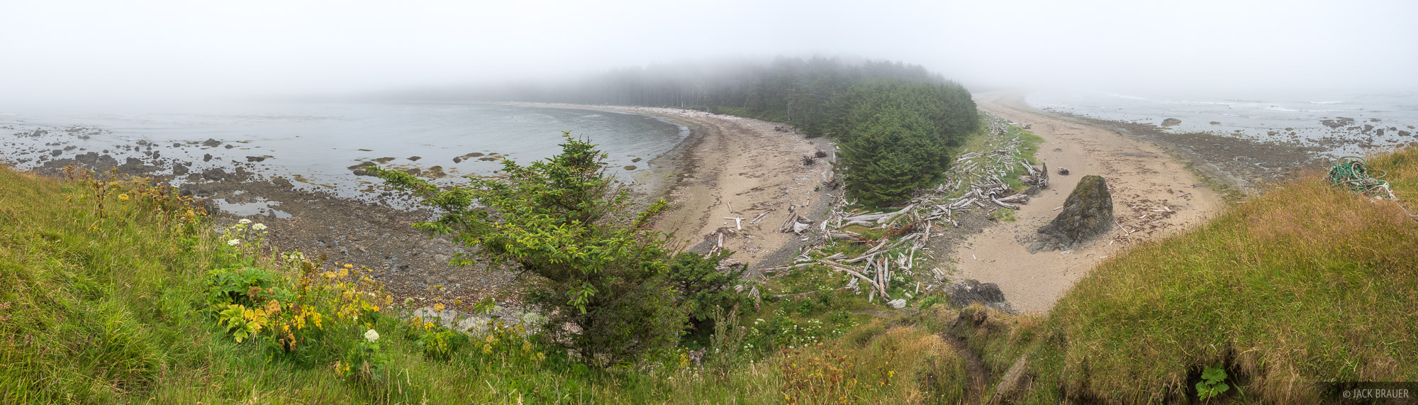 Panoramic view at Sand Point.