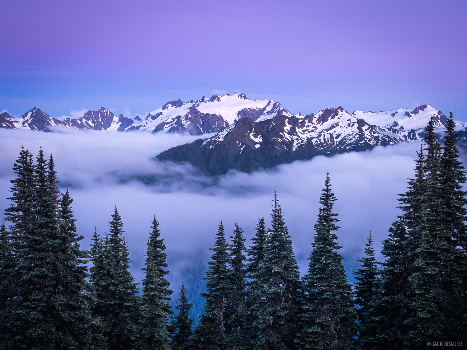 Mount Olympus, Olympic Peninsula, Sol Duc, Washington, Olympic National Park, photo