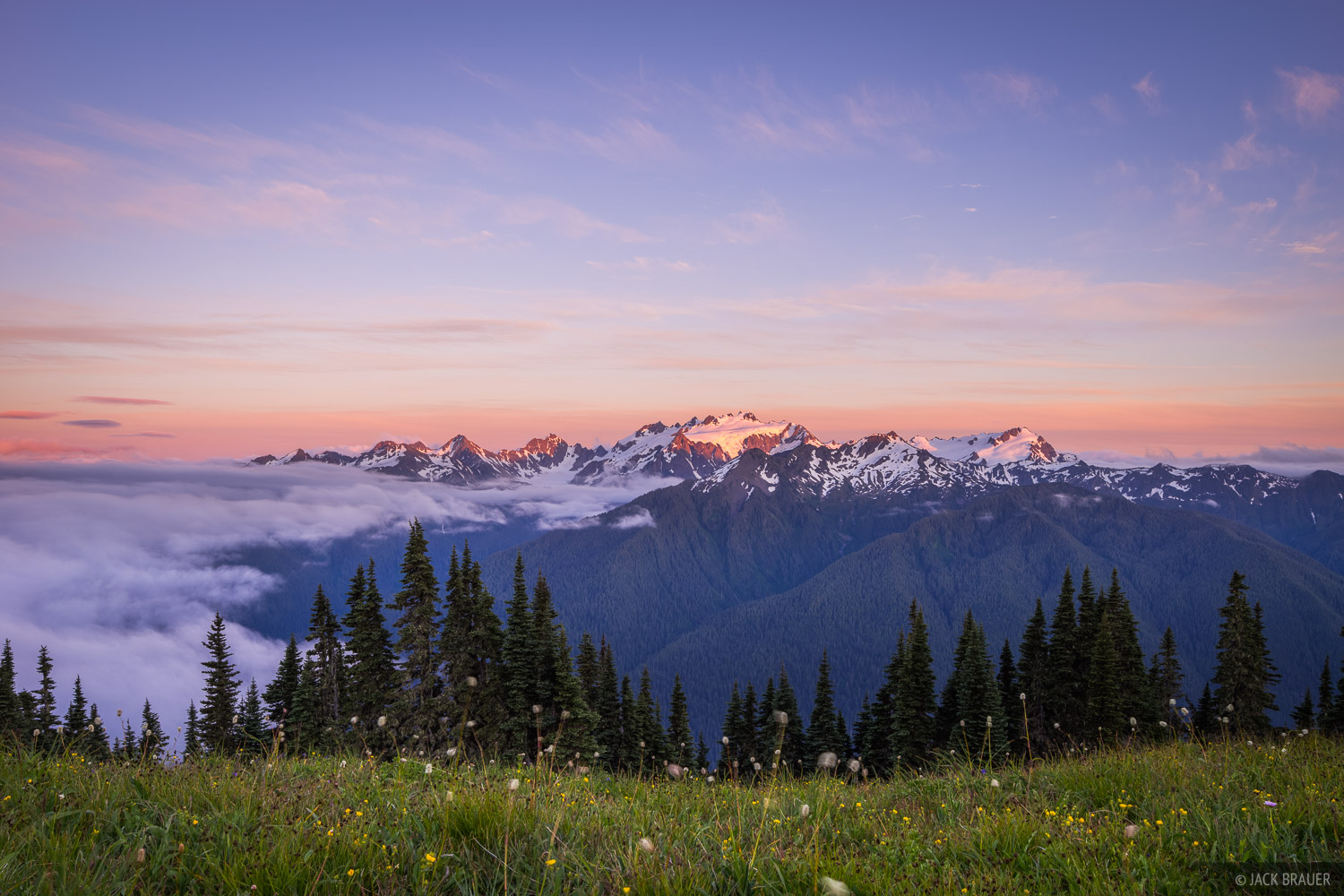 Mount Olympus, Olympic Peninsula, Sol Duc, Washington, Olympic National Park