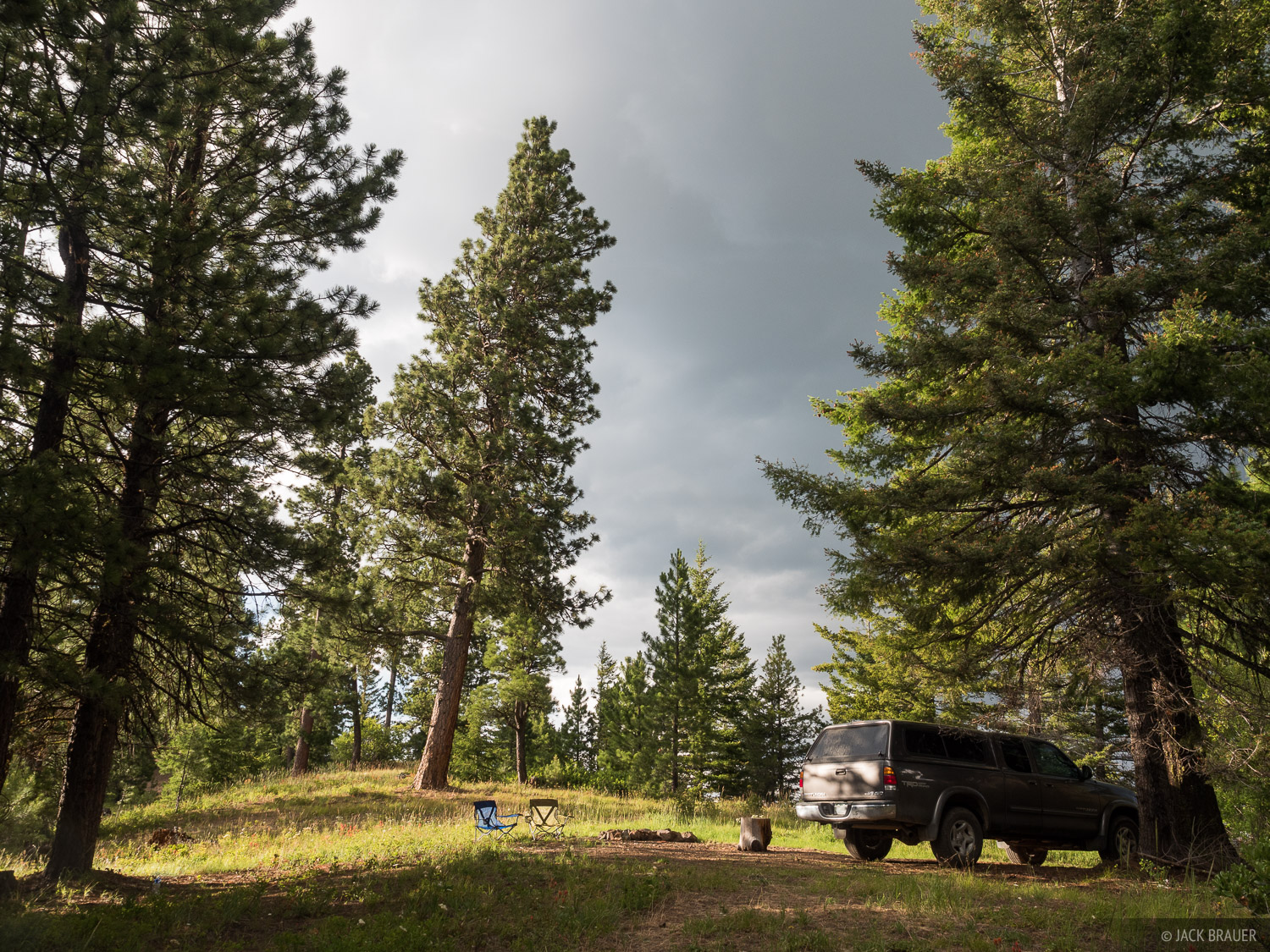 While waiting out poor weather, we car camped a few nights up on Tronsen Ridge near Leavenworth in eastern Washington.