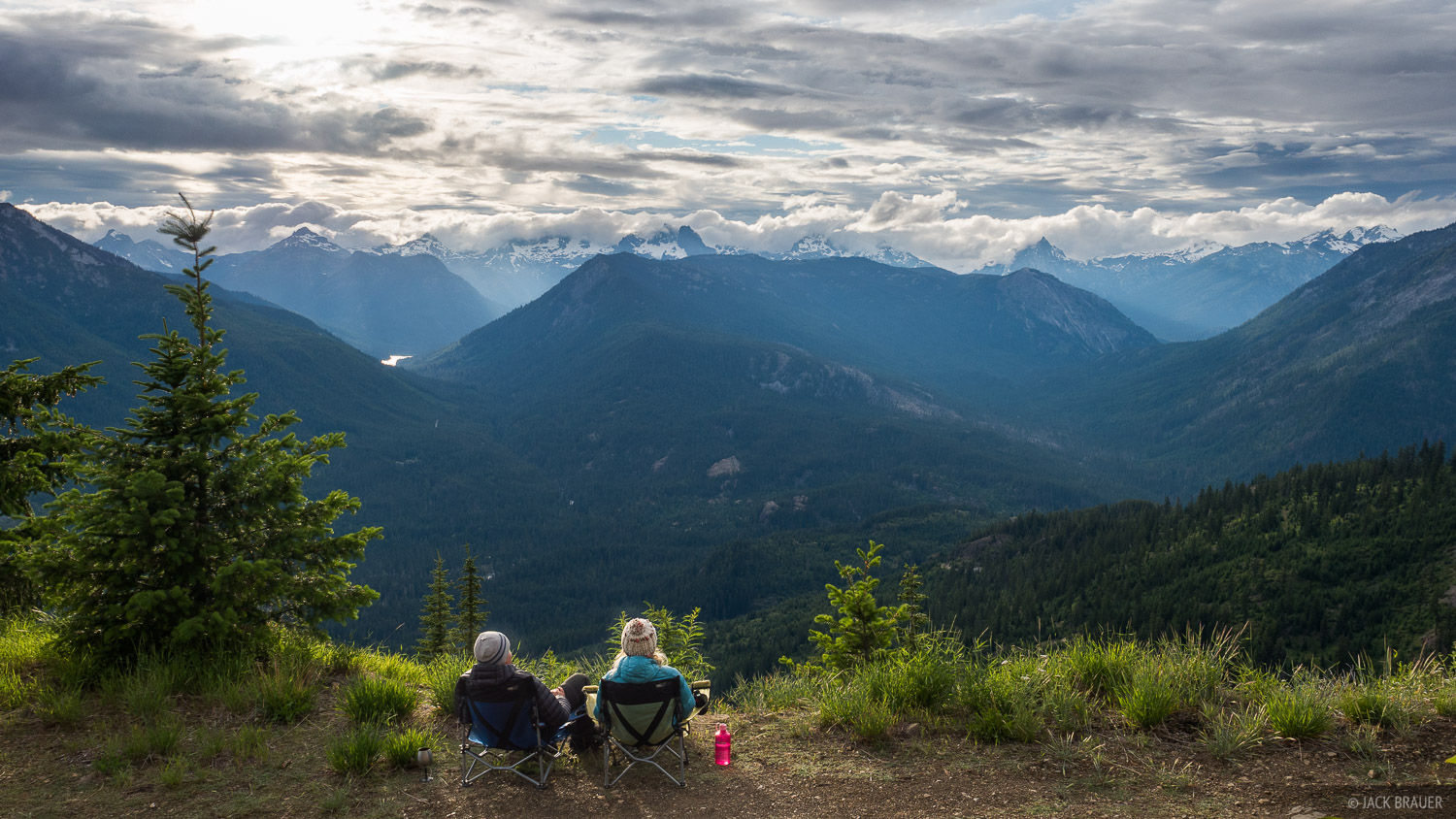 Before departing on a 5-day trek in the Alpine Lakes Wilderness in Washington, we drove up a long switchbacking forest road above...