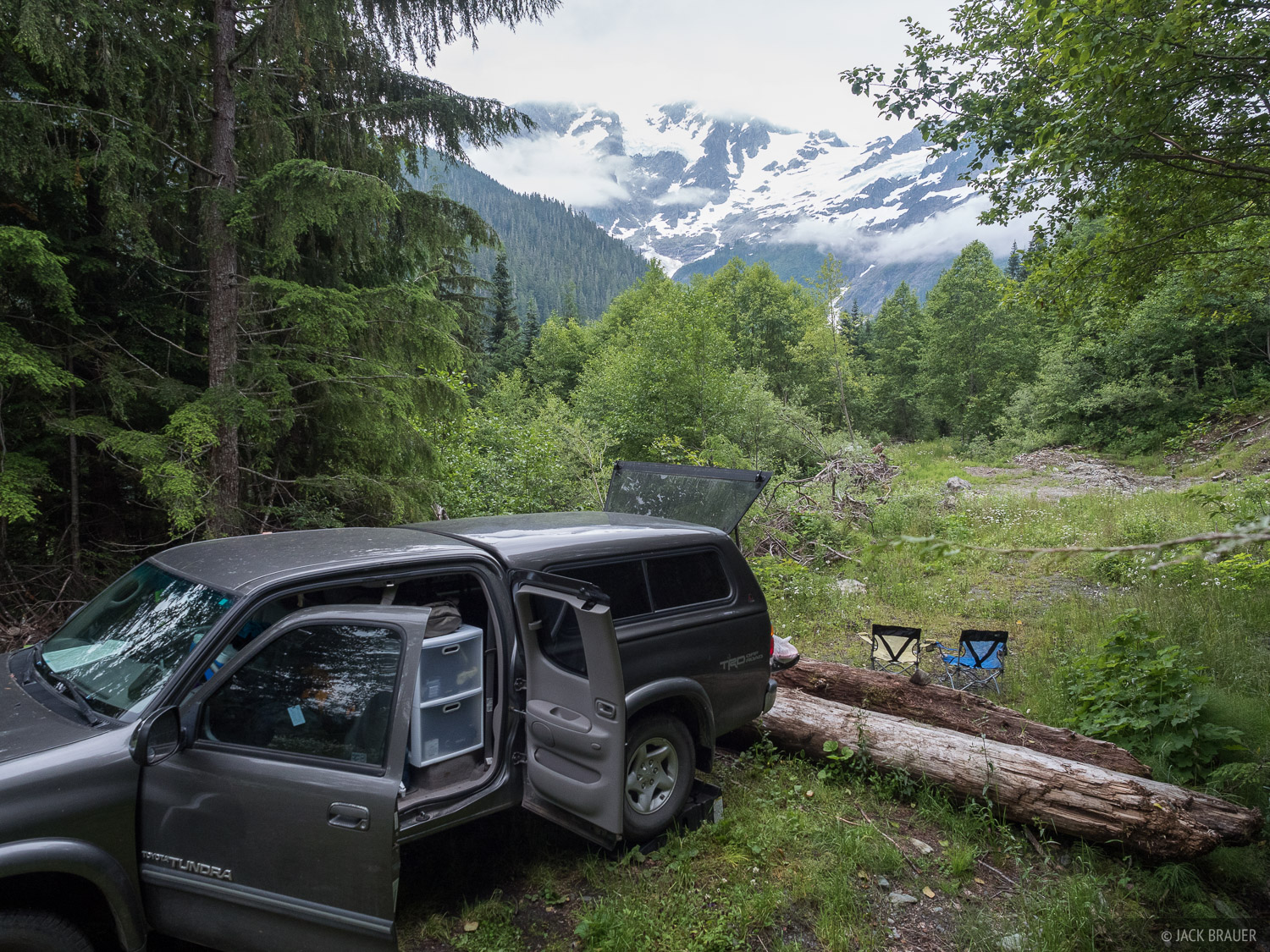 After our trek in the Alpine Lakes Wilderness, we drove north to Mount Shuksan where we found a random campspot that would have...