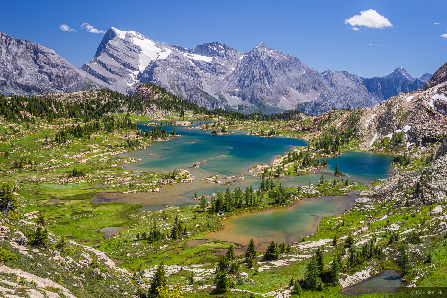 British Columbia, Canada, Canadian Rockies, Height of the Rockies, Limestone Lakes, BC, photo